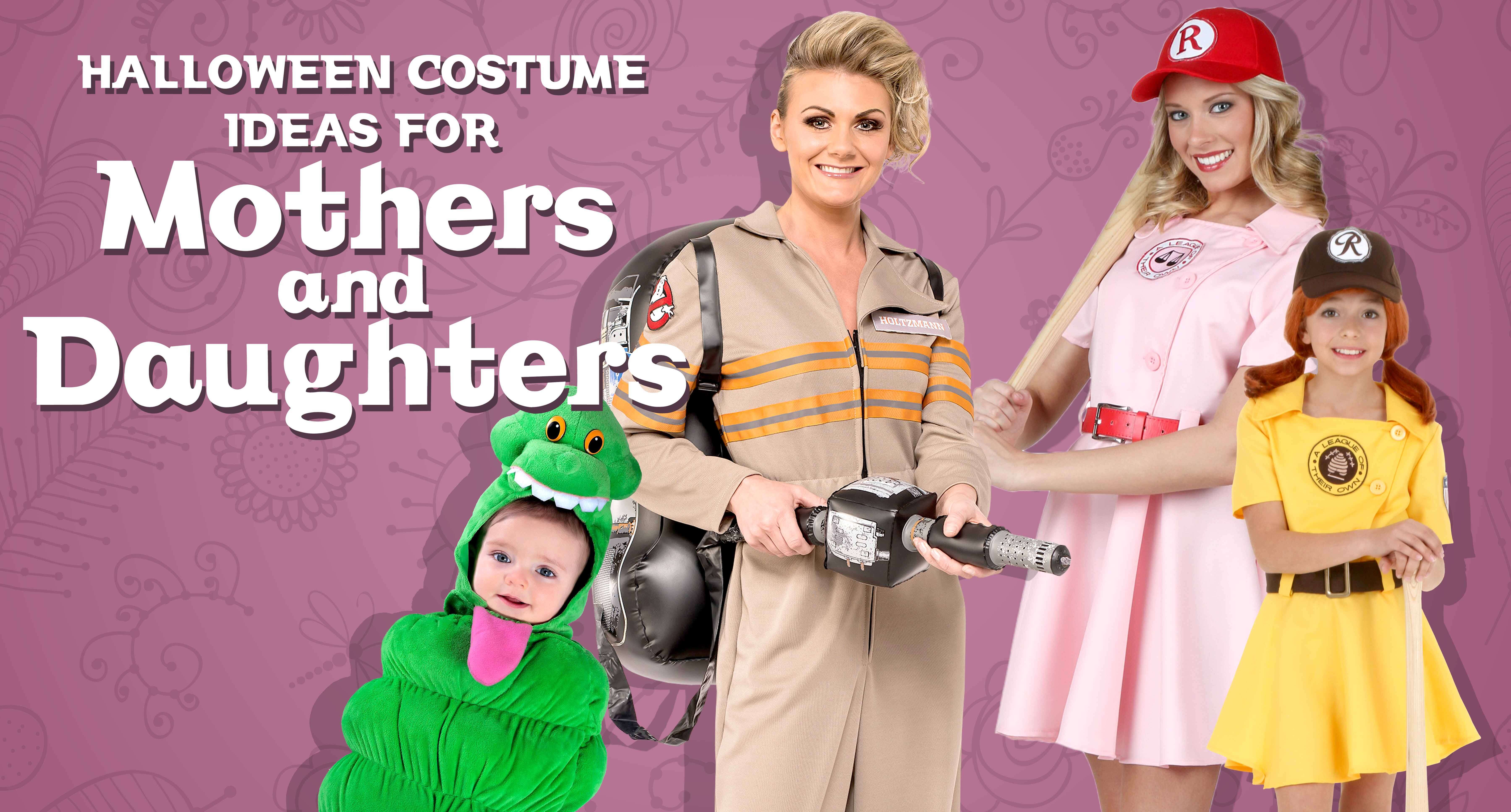 Halloween Costume Ideas For Mothers And Daughters Halloween