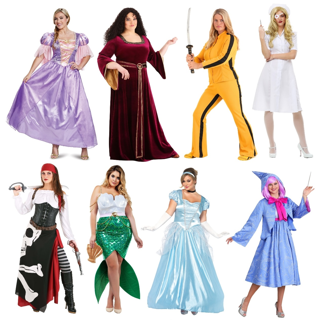 Mom and Daughter Costumes for Adults
