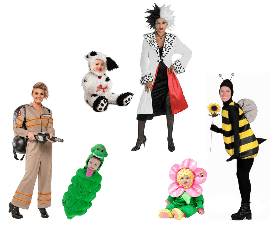 Halloween costumes for mothers and babies