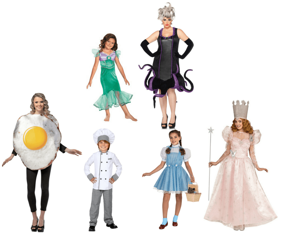Halloween costumes for mothers and child