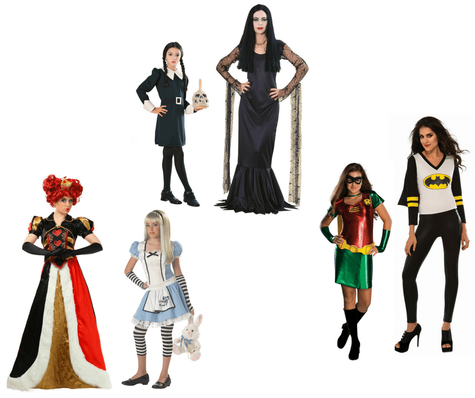 Halloween costumes for mothers and teenagers