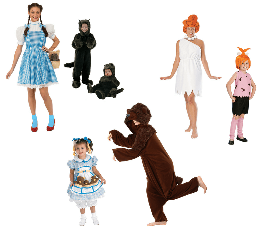 Halloween costumes for mothers and toddlers