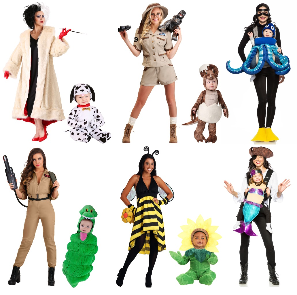 Costumes for Mothers With Baby Daughters