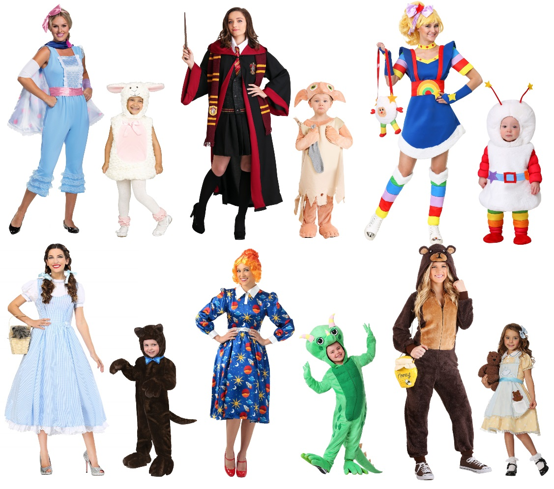 Costumes for Mothers With Toddler Girls