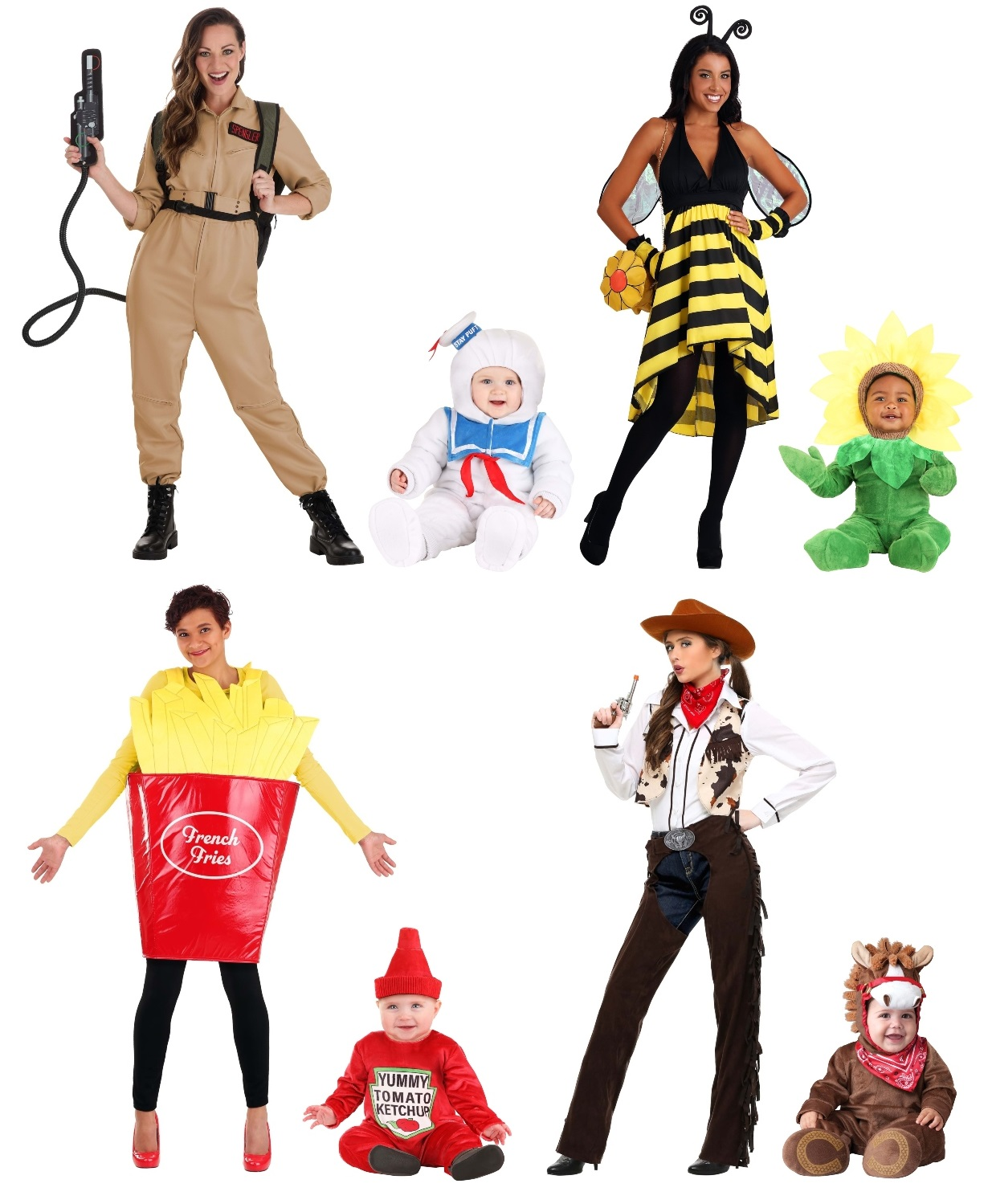 Mommy and Baby Costume Ideas for Boys