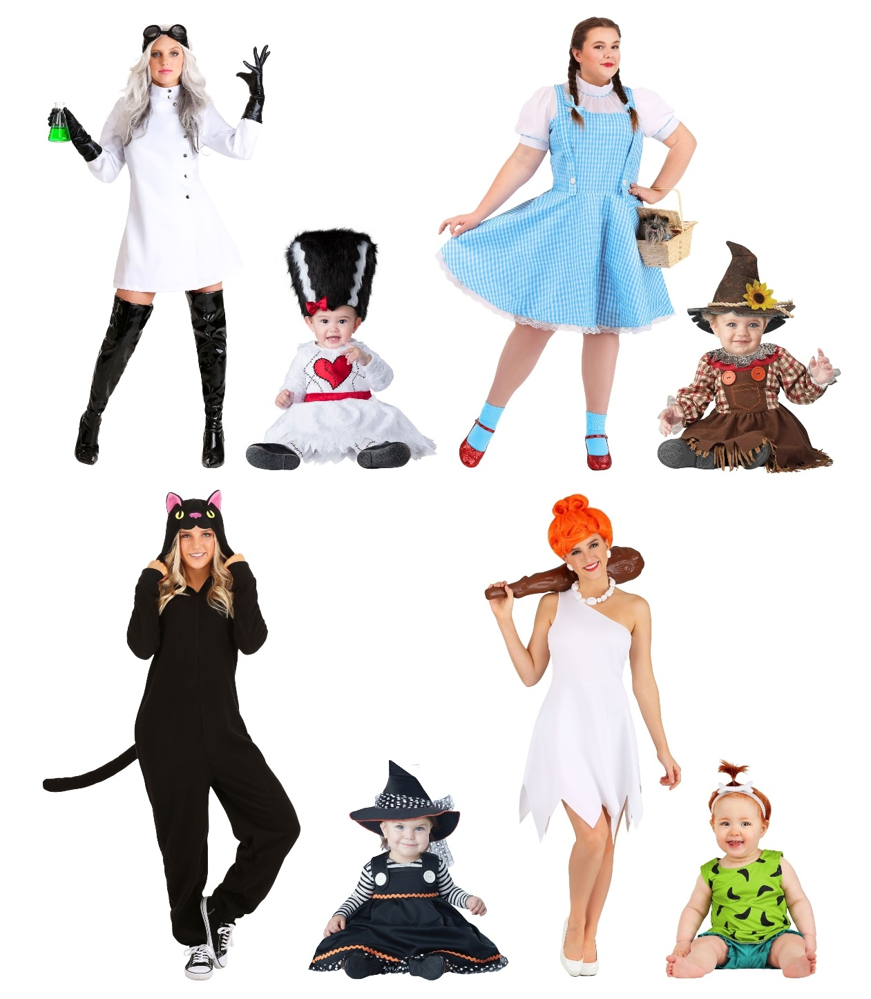 Mommy and Baby Costume Ideas for Girls