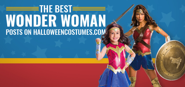 Best Wonder Woman Posts HalloweenCostumes.com