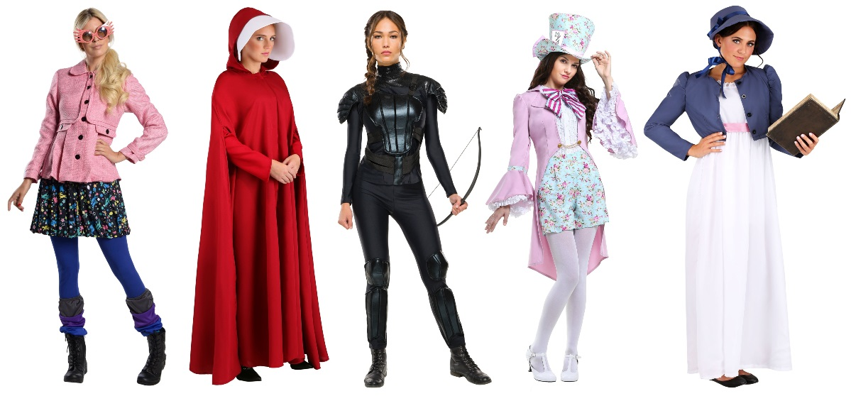 Book Character Costumes for English Majors