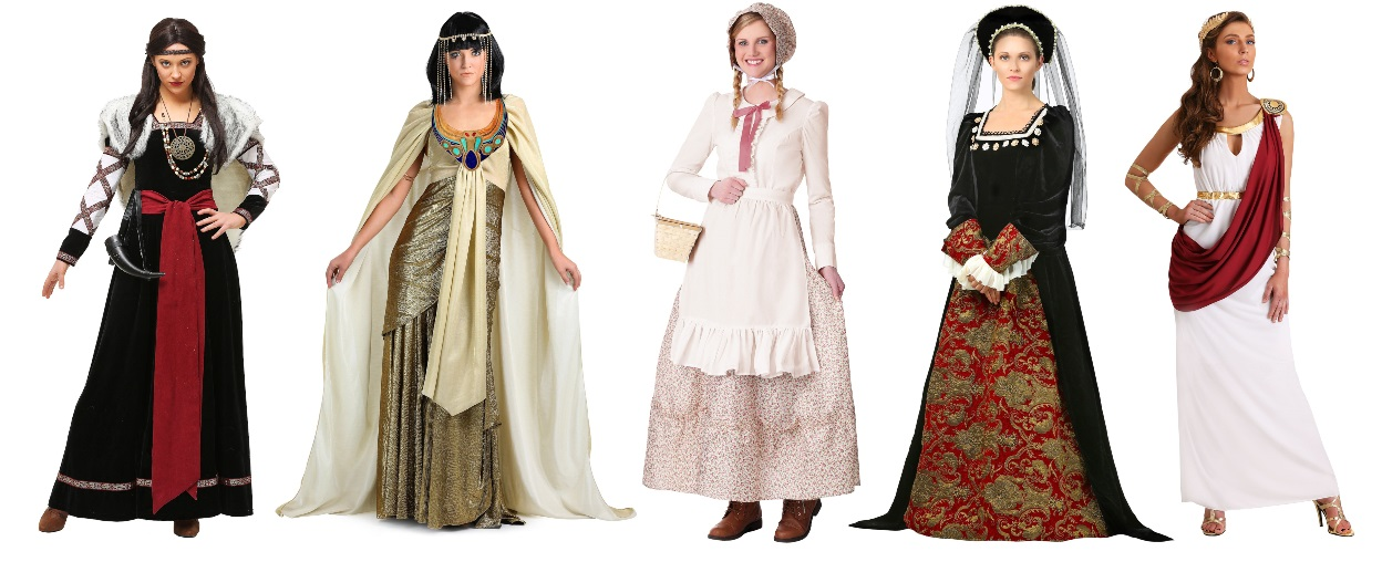 Historical Halloween Costumes for History Majors
