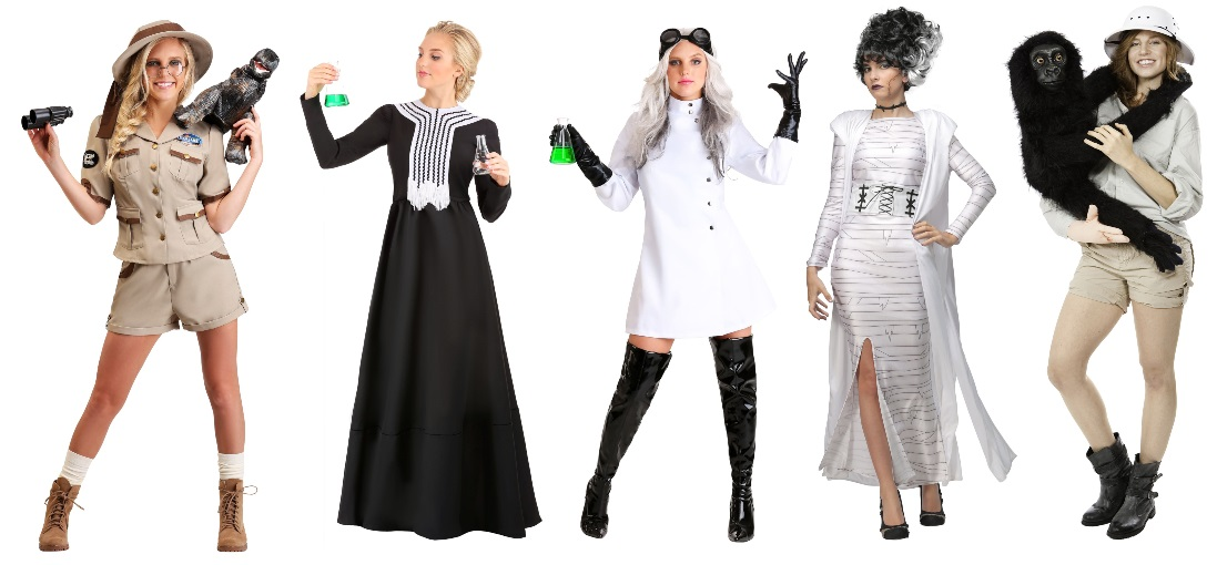 Scientific Halloween Costumes for Science Majors