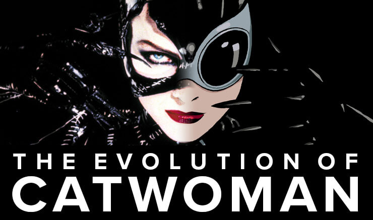 Evolution of Catwoman Header Image