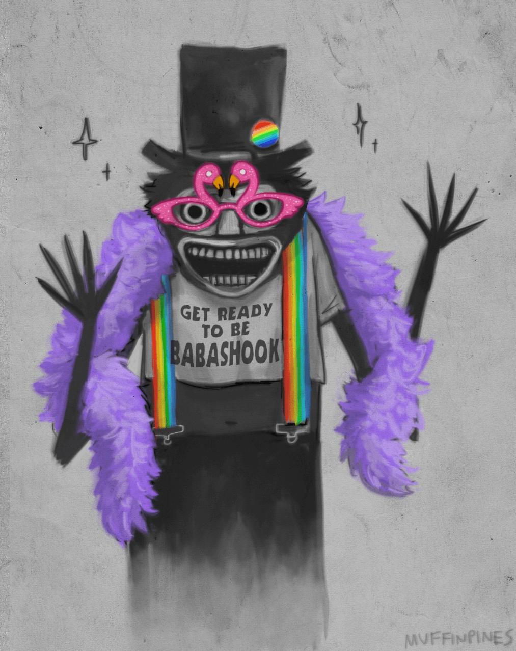 diy babadook pride costume and makeup tutorial - halloween costumes blog