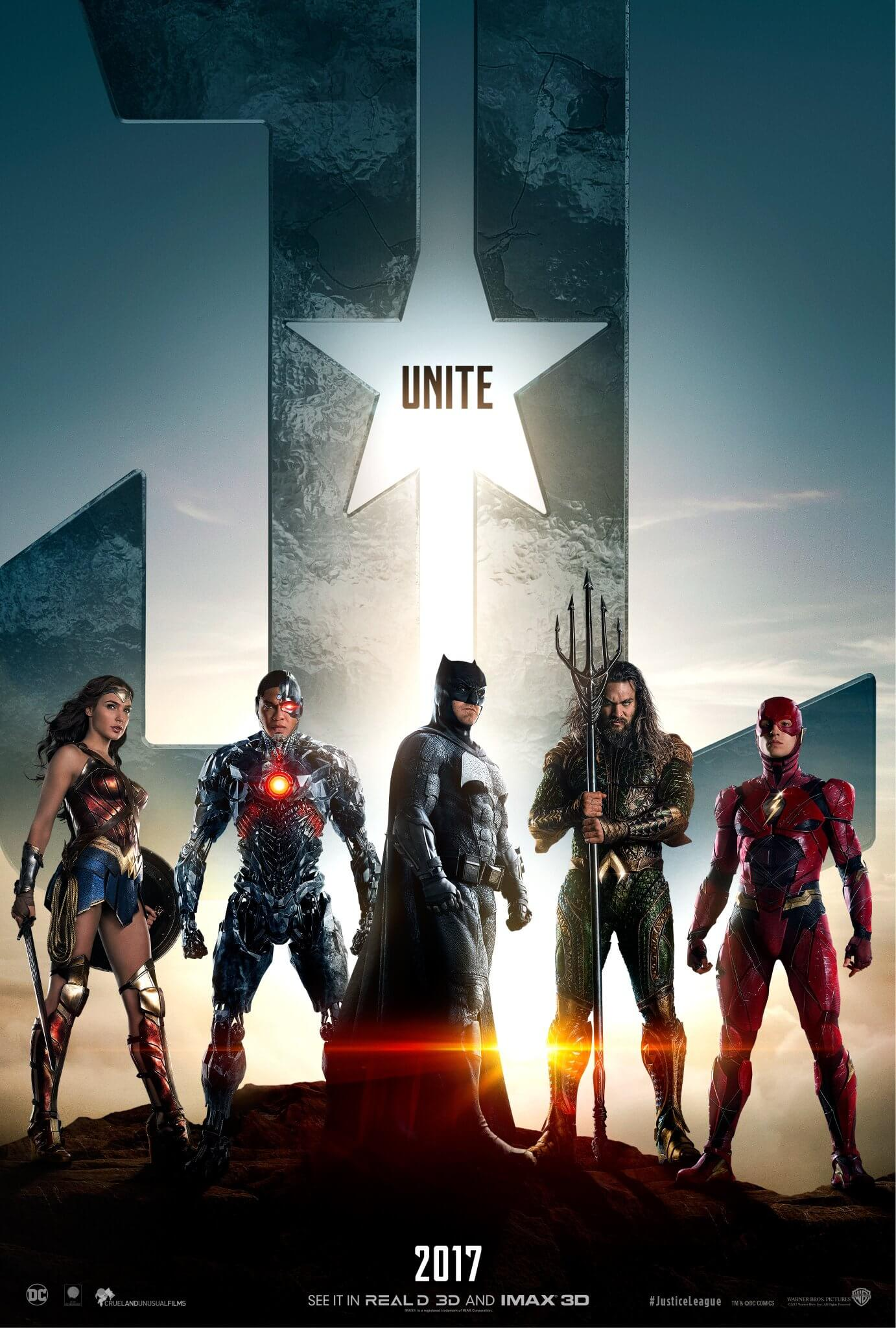Justice League official poster