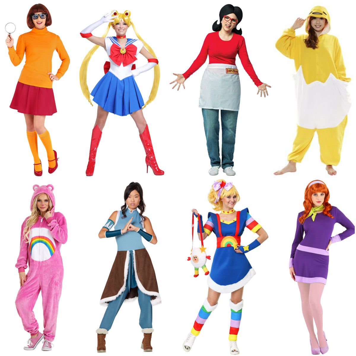 Cartoon and Anime Costumes for Women