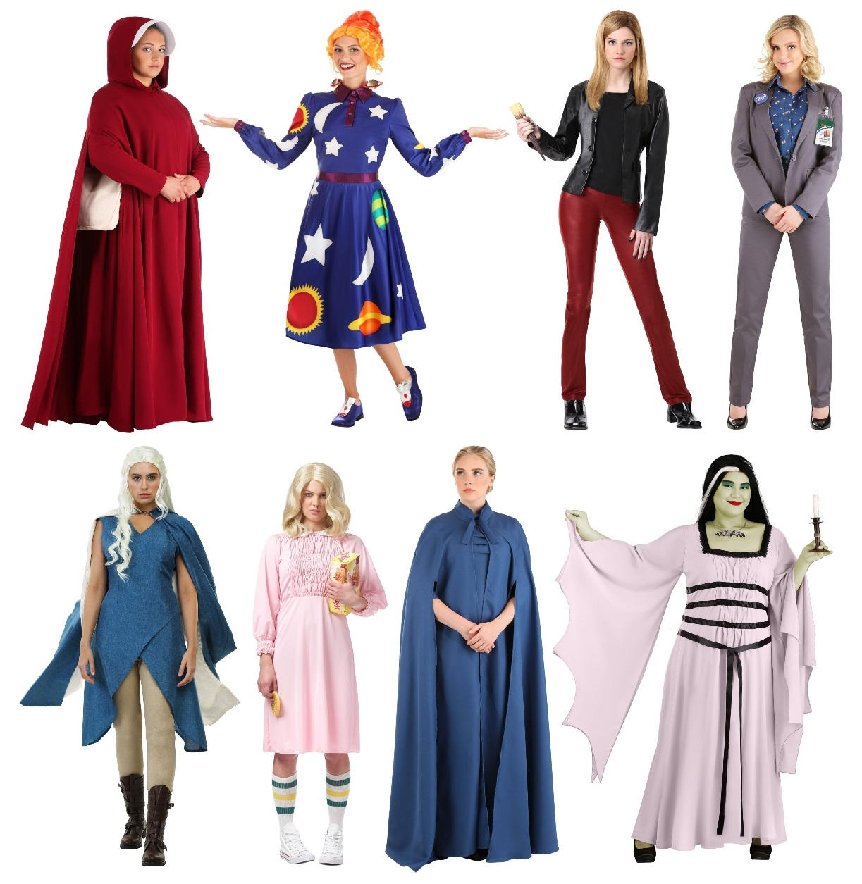 TV Character Costumes for Women