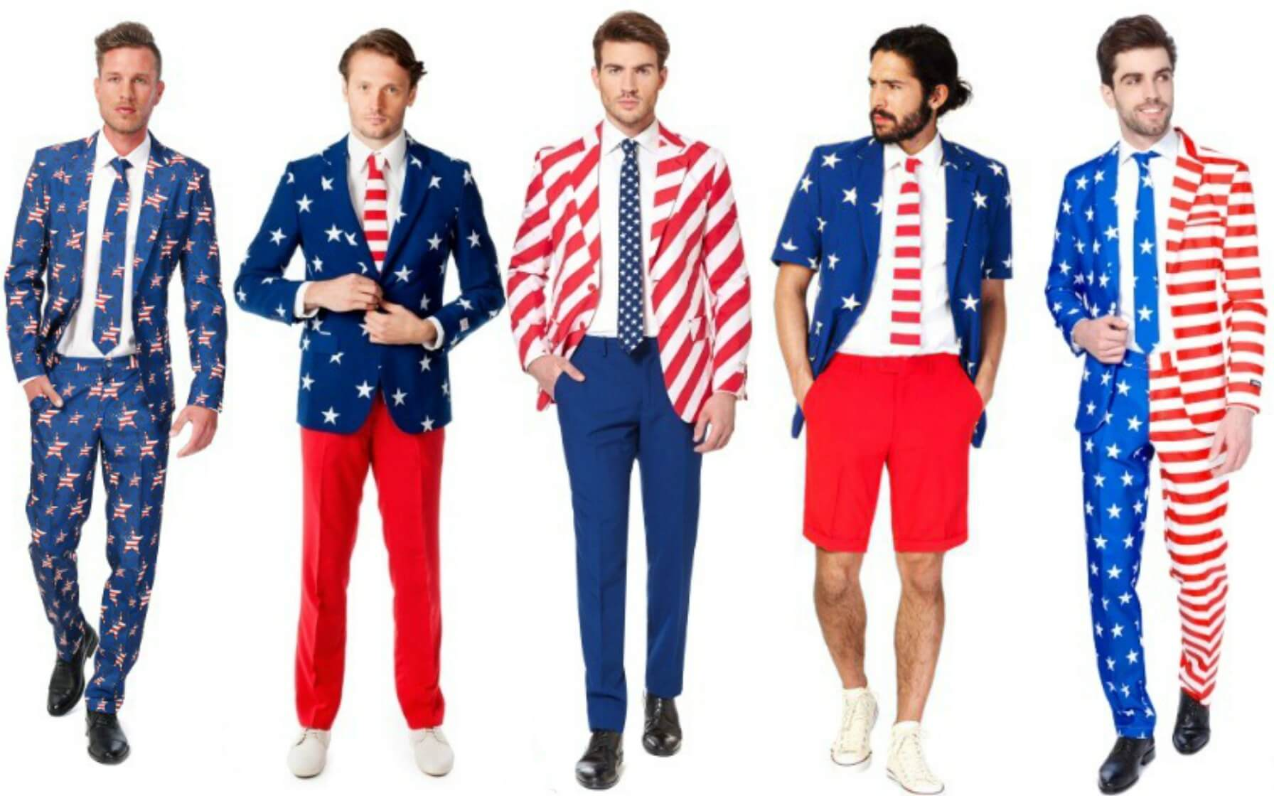 4th of July Opposuits