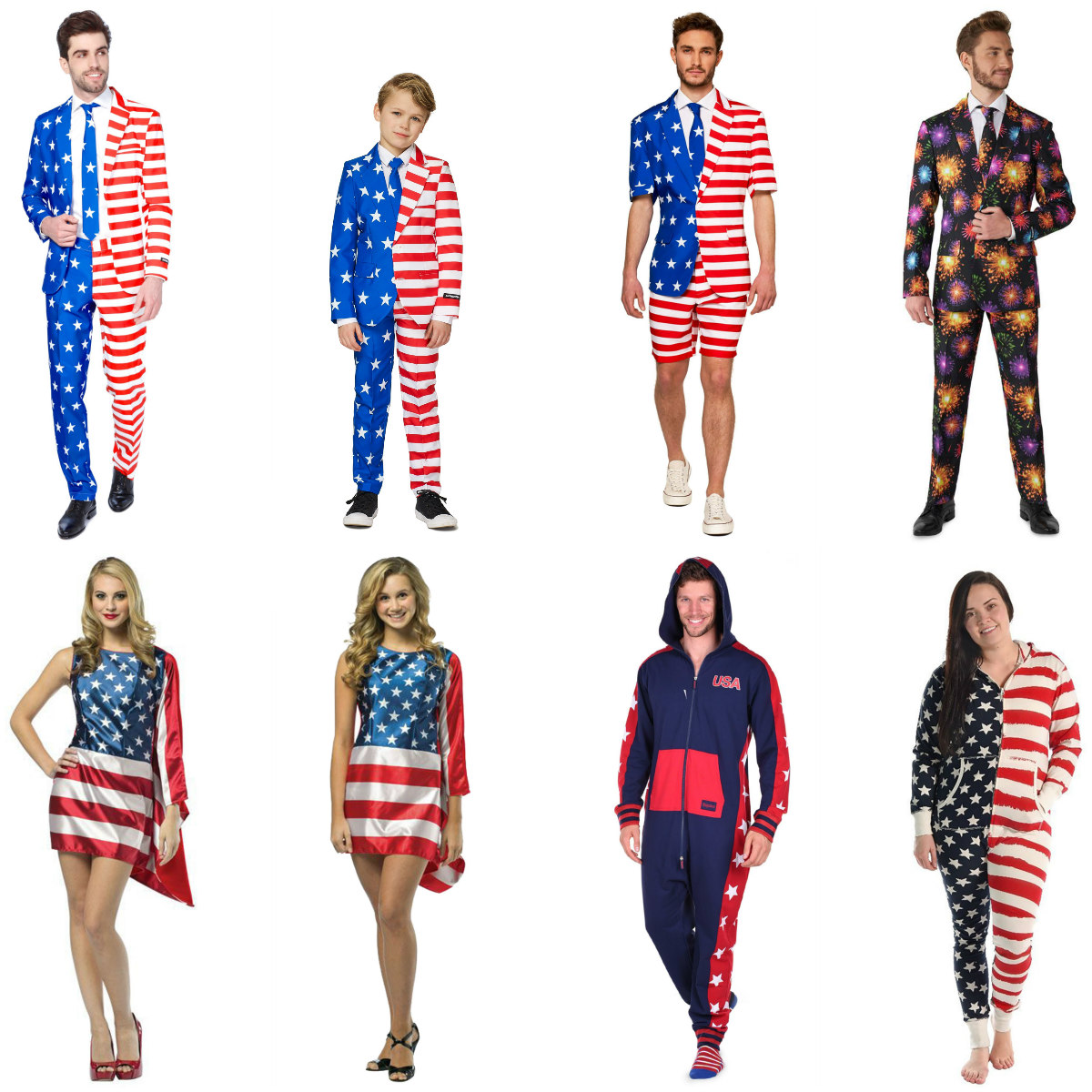 4th of July Outfits and Suits