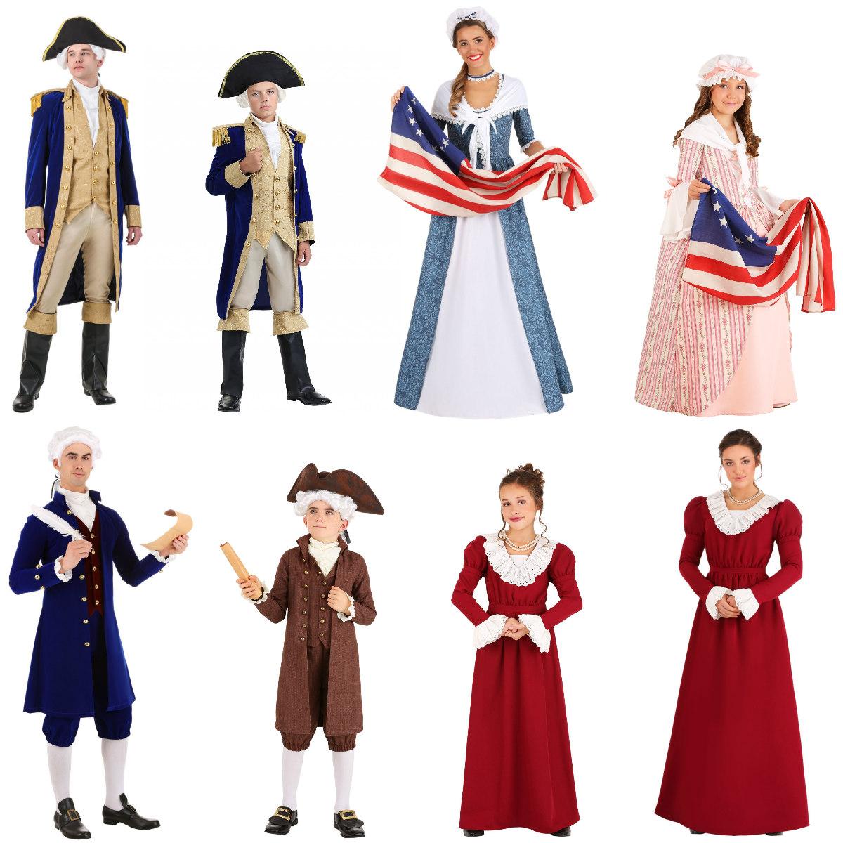 Patriotic Costumes