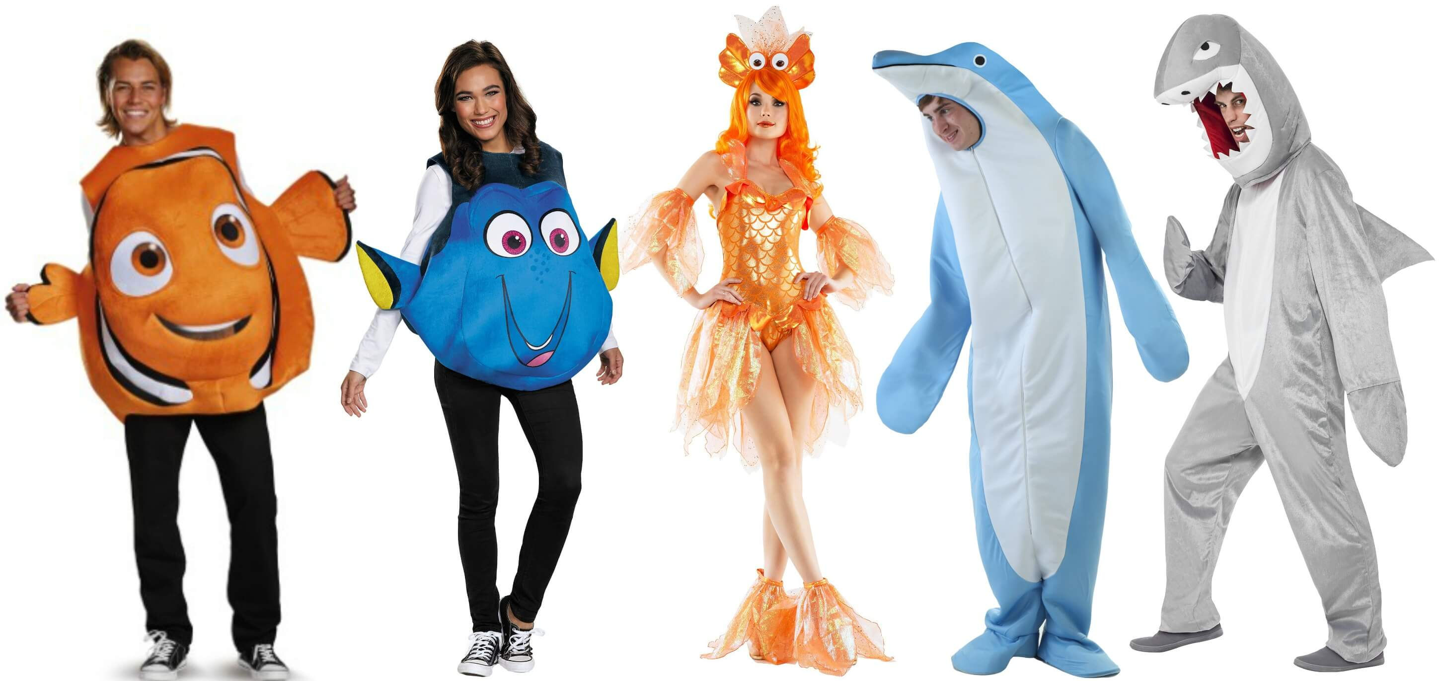 fish costumes for the party animal
