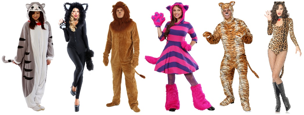 Cat Costumes for Fierce Partygoers