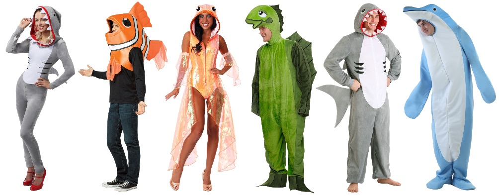 Fish Costumes for Goofy Adults