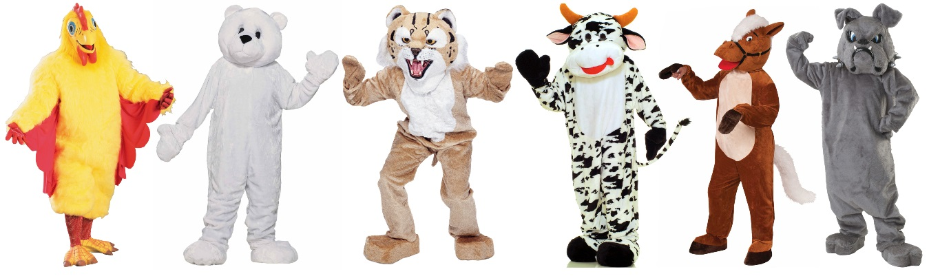 Mascot Costumes for Over-the-Top Party Animals