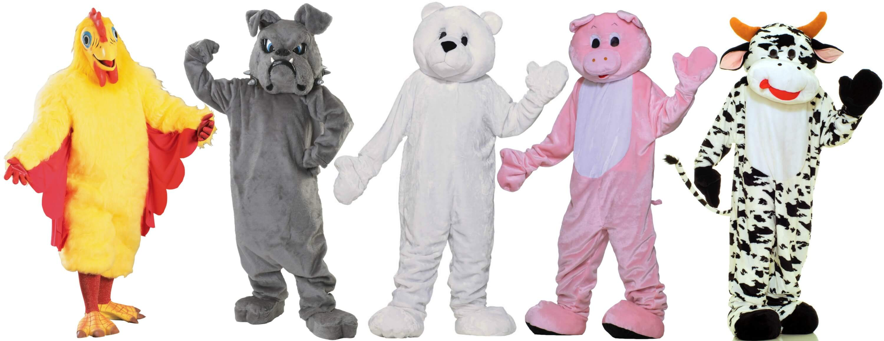 mascot costumes for the party animal