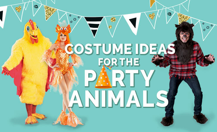 costume ideas for the party animals