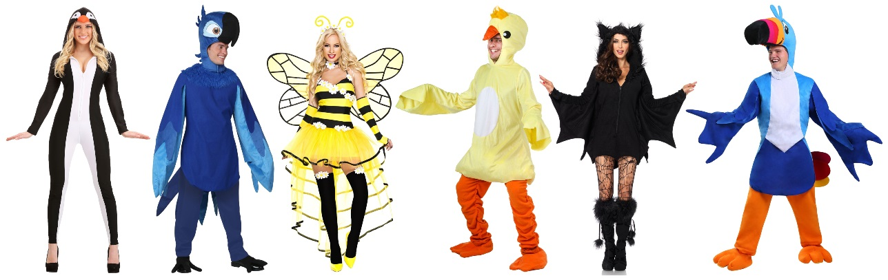 Winged Costumes for Party People