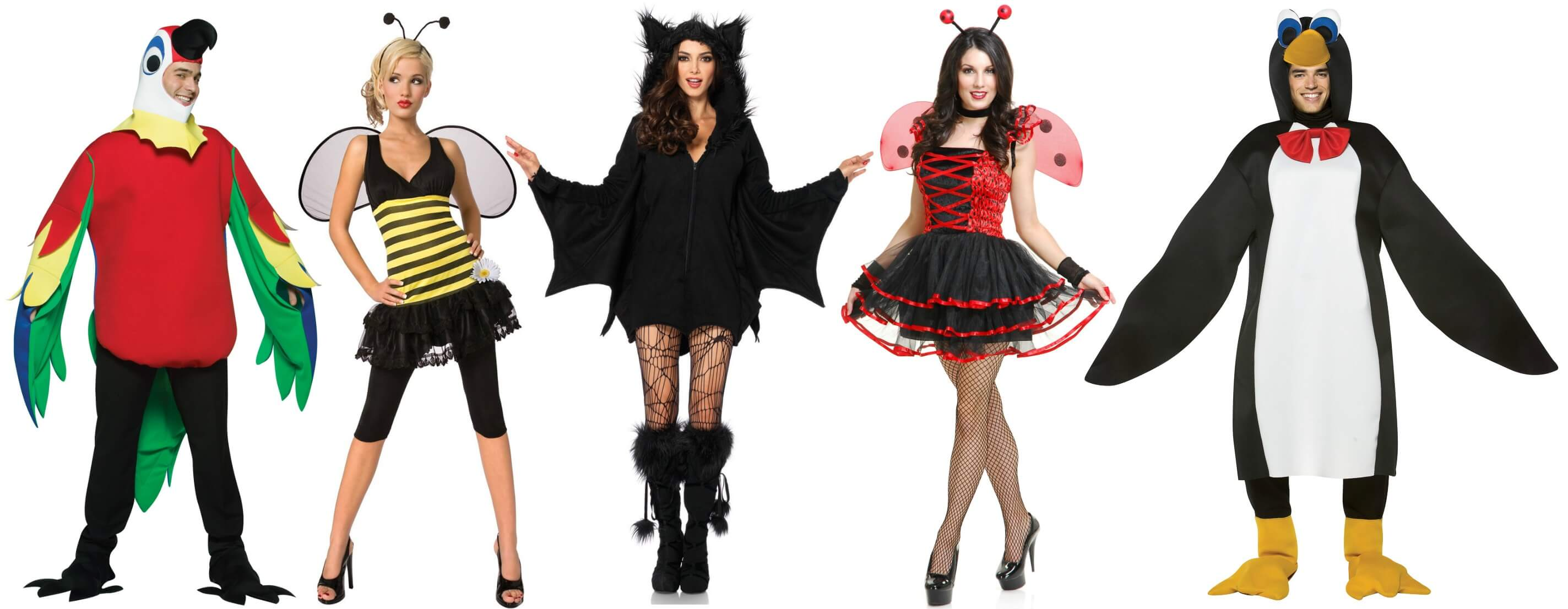 winged costumes for the party animal