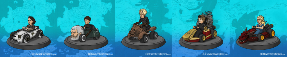 Game of Karts avatar set 1