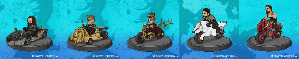 Game of Karts avatar set 2
