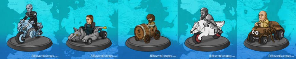Game of Karts avatar set 3