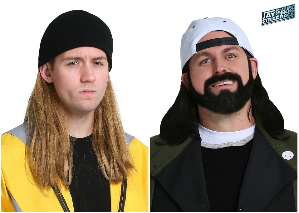 Jay and Silent Bob Wigs