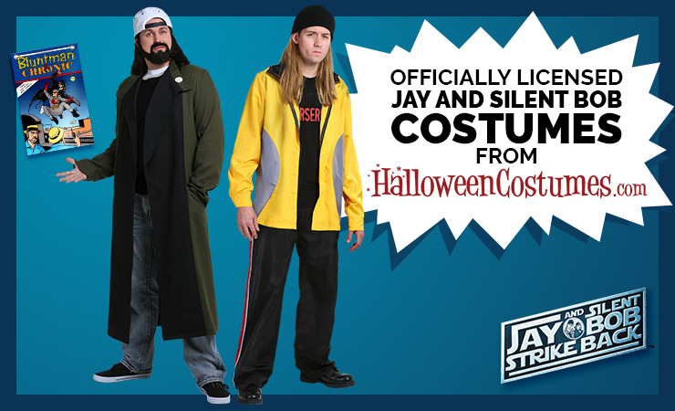 Exclusive Jay and Silent Bob Costumes