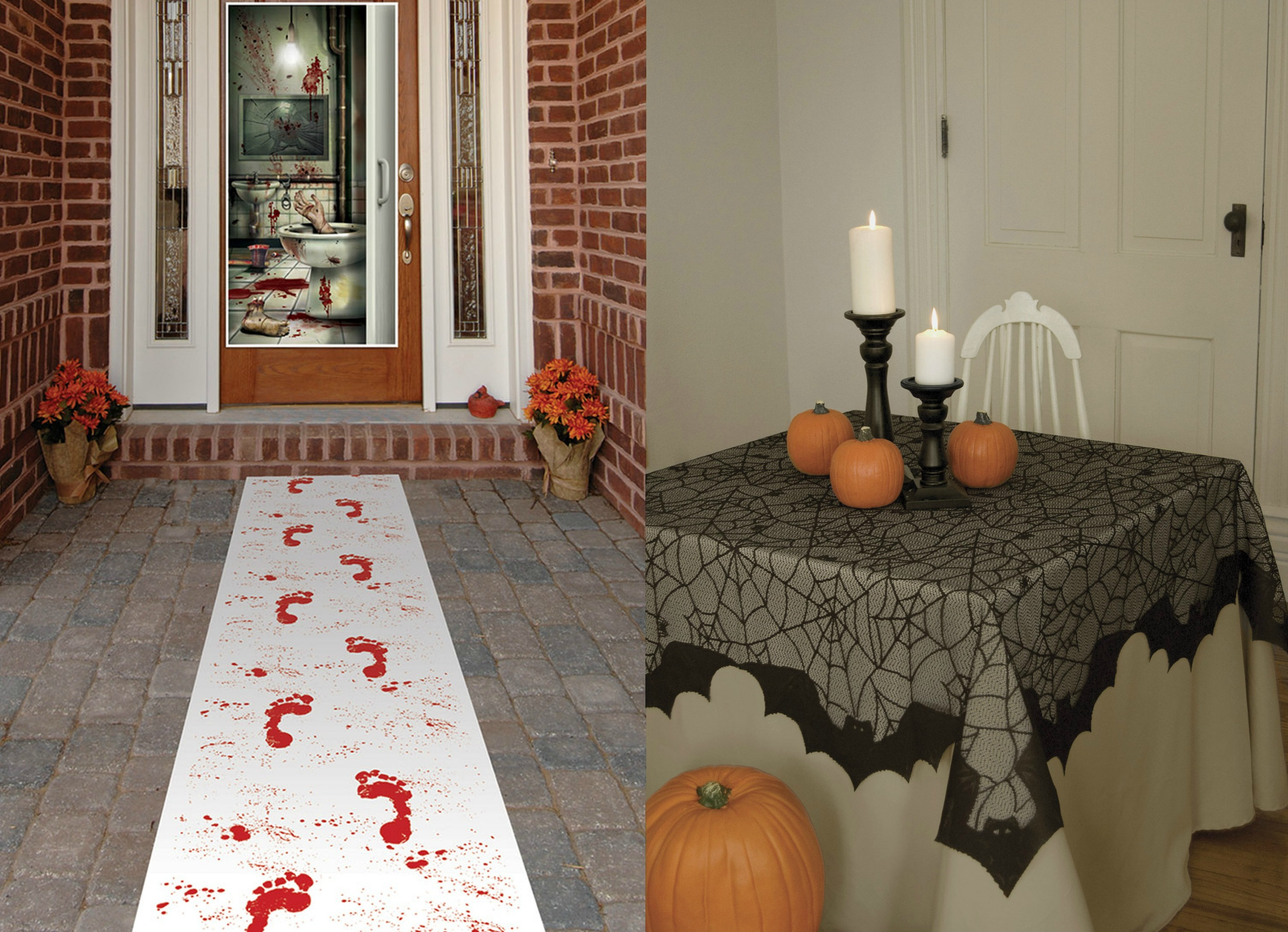 decorations for a spooky wedding