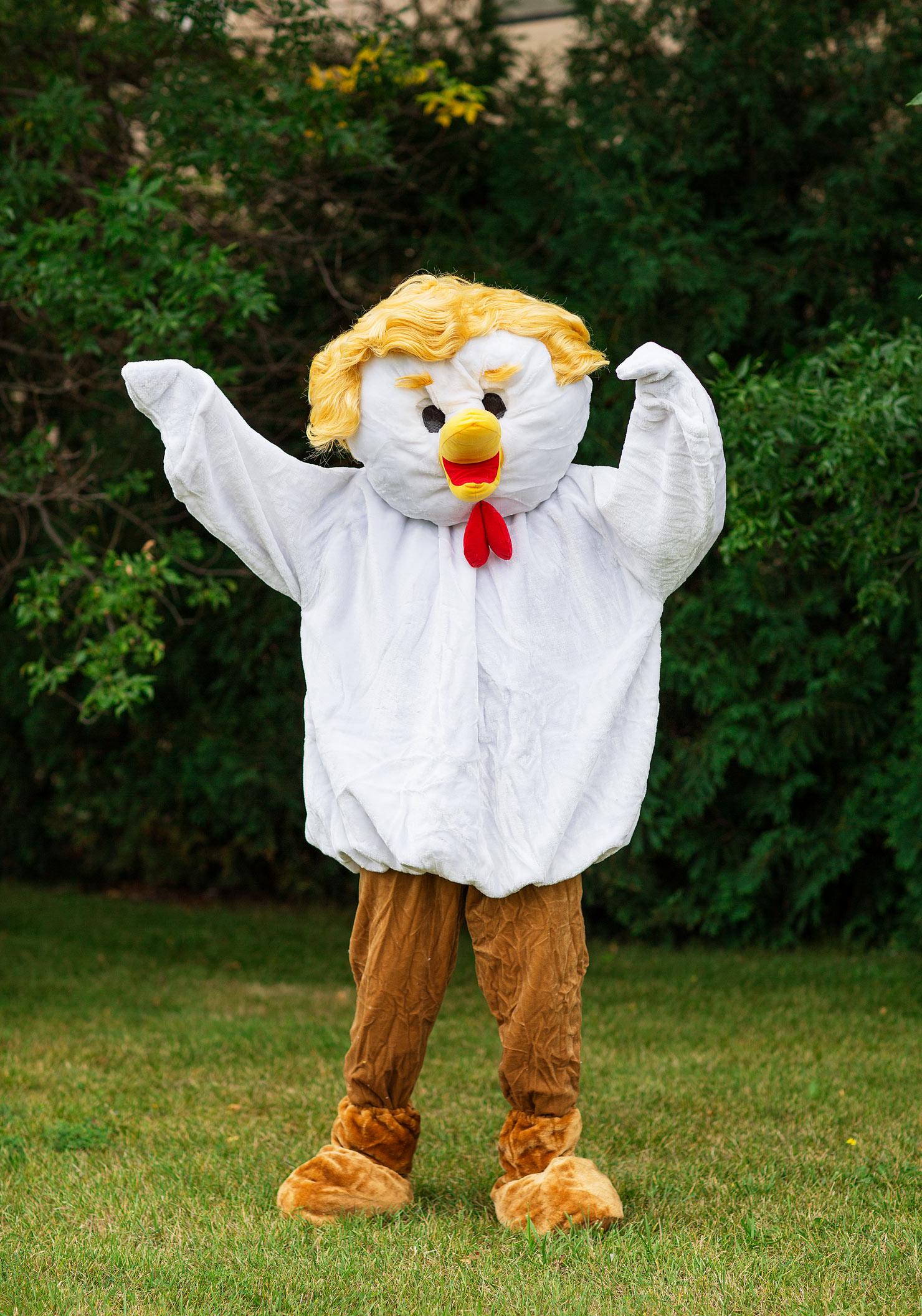 Trump Chicken DIY Halloween Costume - Halloween Costumes Blog