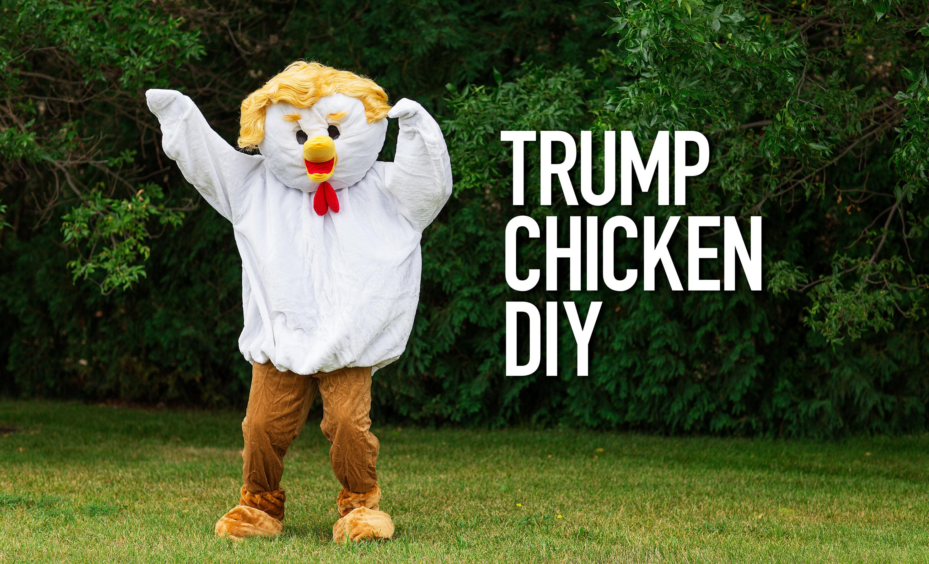 Trump Chicken DIY