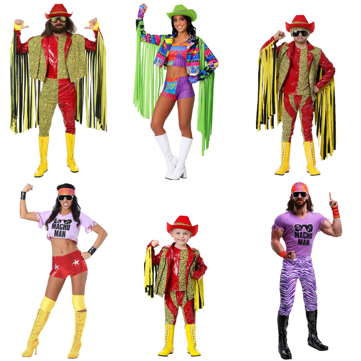 WWE Macho Man Randy Savage Costumes