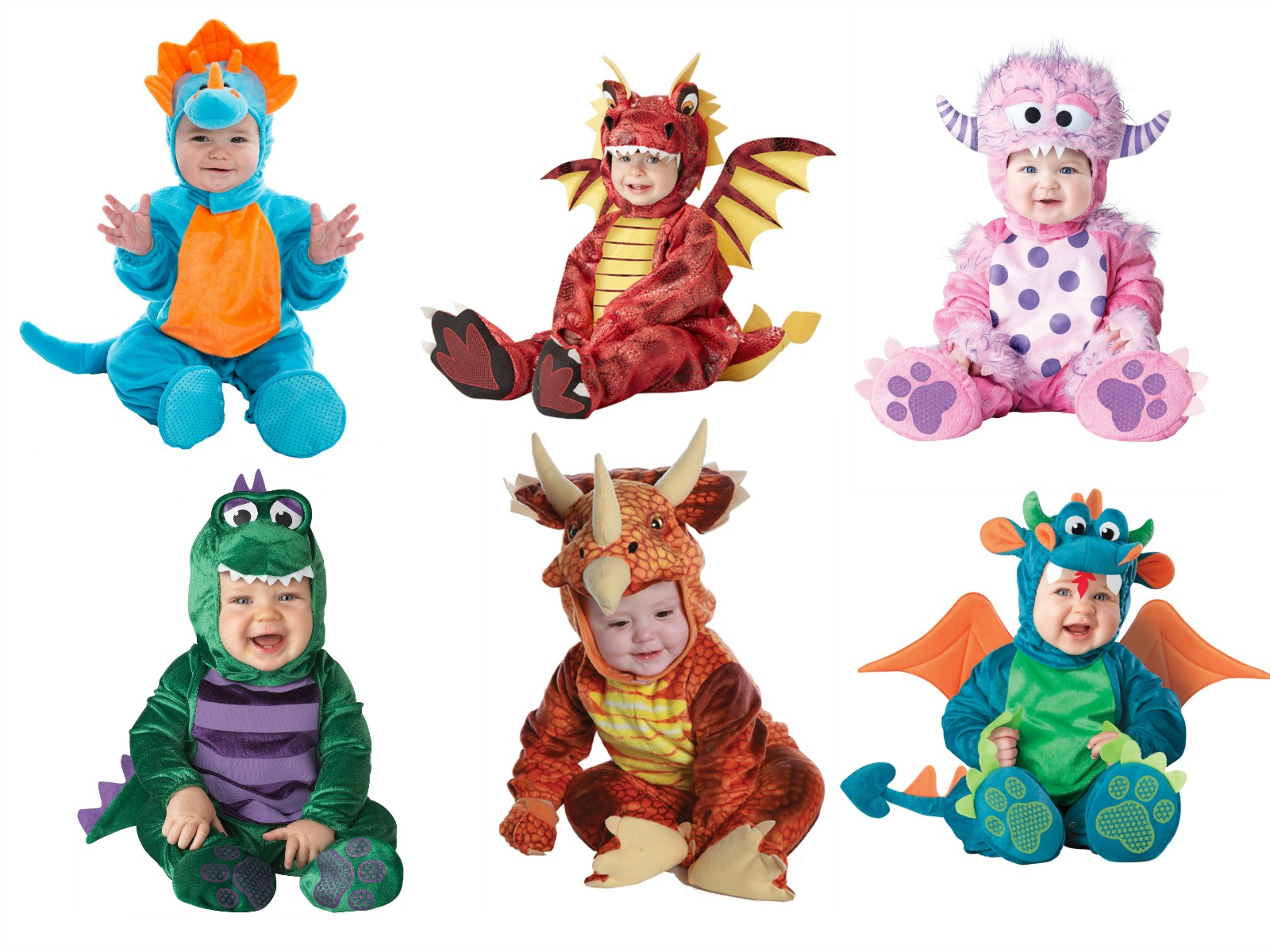 Dragon and Dinosaur Costumes