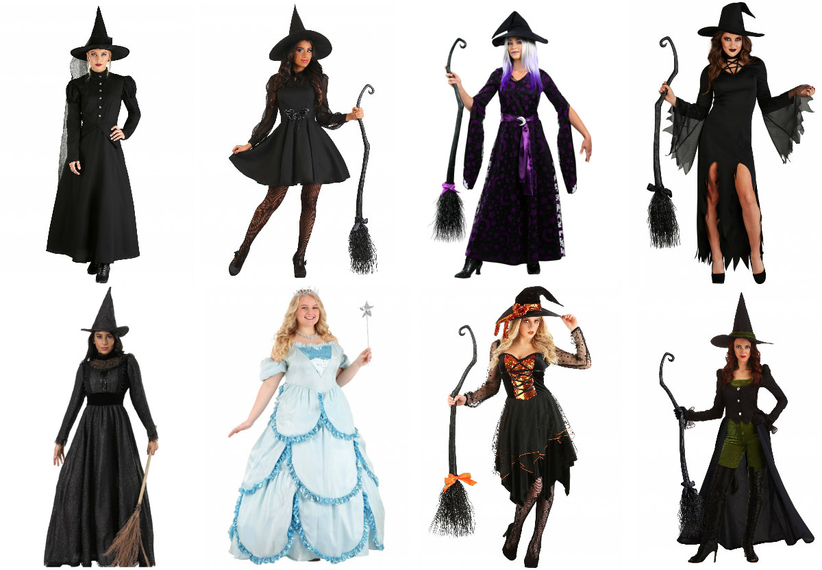 Classic Witch Costumes