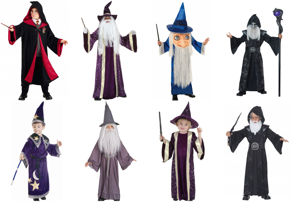 Kid Wizard Costumes