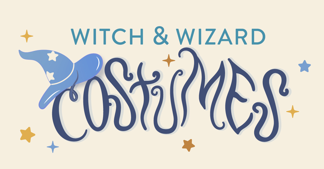 Witch and Wizard Costumes That'll Put a Spell on You