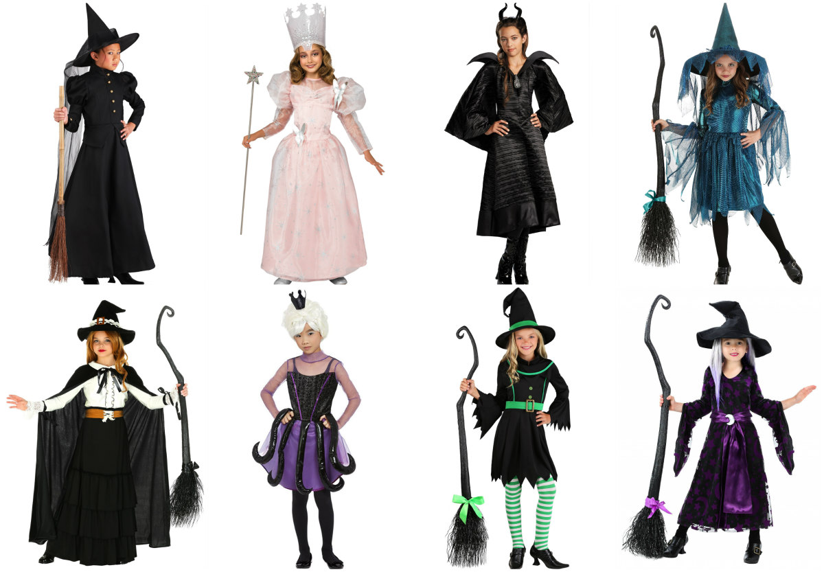 Witch Costumes for Kids and Teens