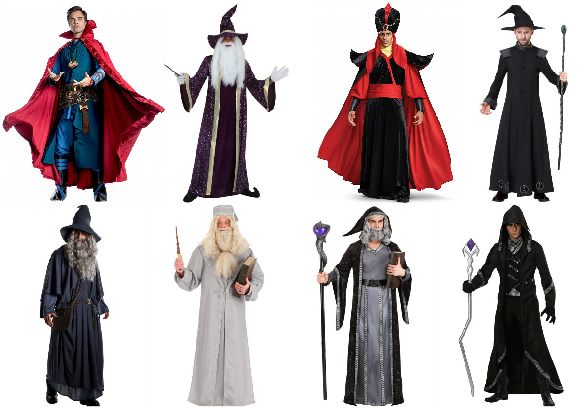 Wizard Costumes for Adults
