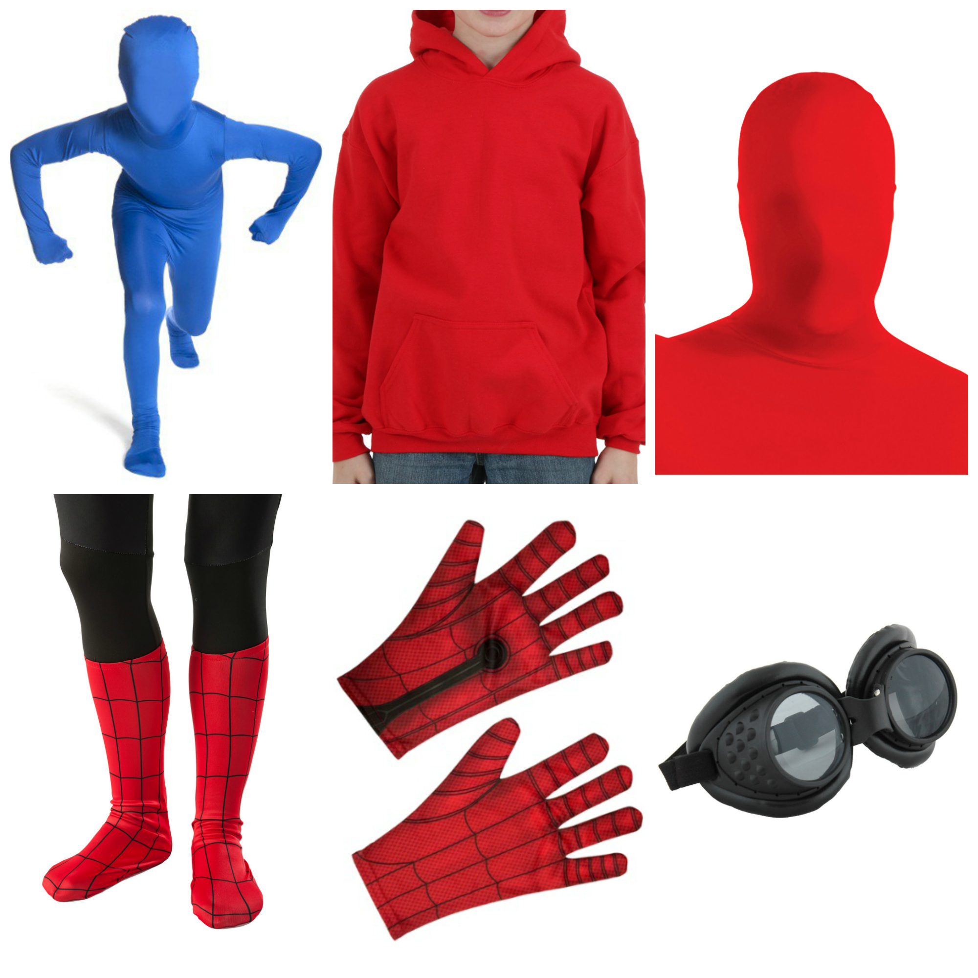 Diy Spider Man Homecoming Halloween Costume Halloween