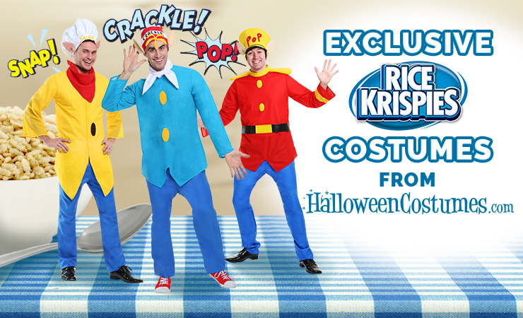 HalloweenCostumes.com Exclusive Rice Krispies Costumes