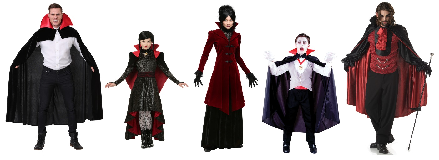 Dracula and Vampire Costume Ideas