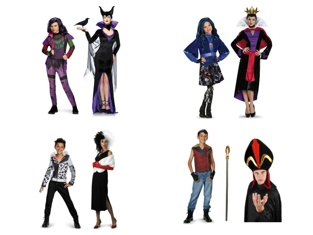 the descendants costumes