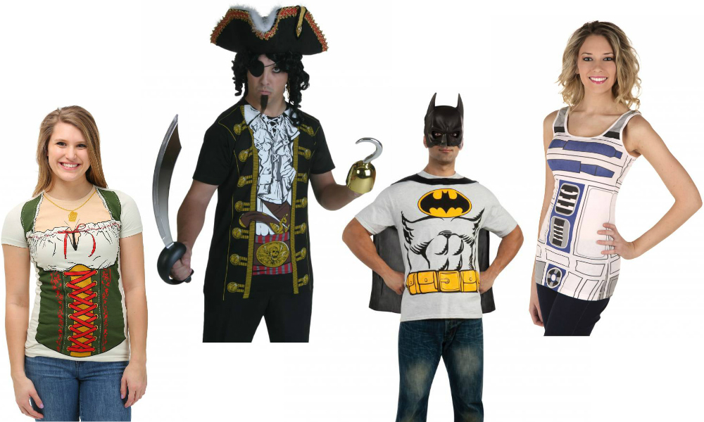 Travel-Friendly T-Shirt Costumes